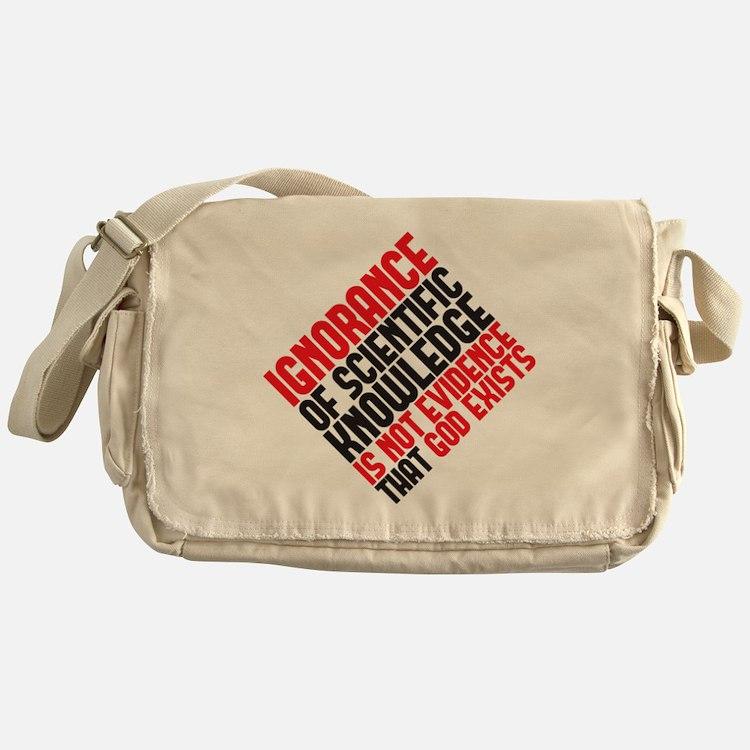 ignorance2 copy Messenger Bag