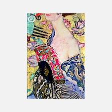 441 Klimt 2 Rectangle Magnet