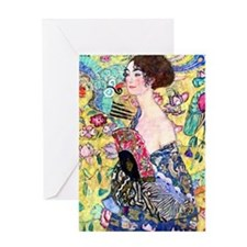 iPad S Klimt 5 Greeting Card