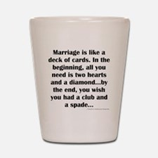 Marriage Shot Glass