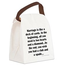Marriage Canvas Lunch Bag