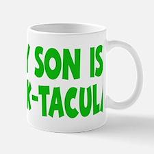 green My Son Stack-tacular hat Mug