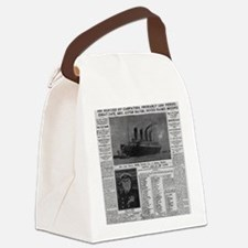 NYT MAYBE BIG Canvas Lunch Bag