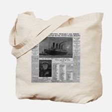 NYT MAYBE BIG Tote Bag