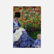 iPadS Monet Camille Rectangle Magnet