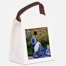 NC Monet Camille Canvas Lunch Bag