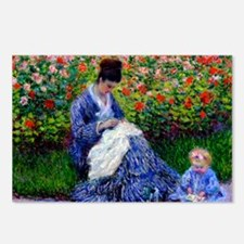 NC Monet Camille Postcards (Package of 8)