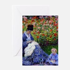iPadS Monet Camille Greeting Card