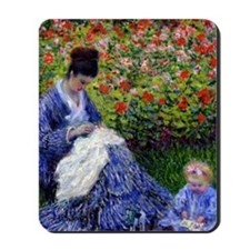 GC Monet Camille Mousepad