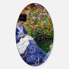 GC Monet Camille Sticker (Oval)