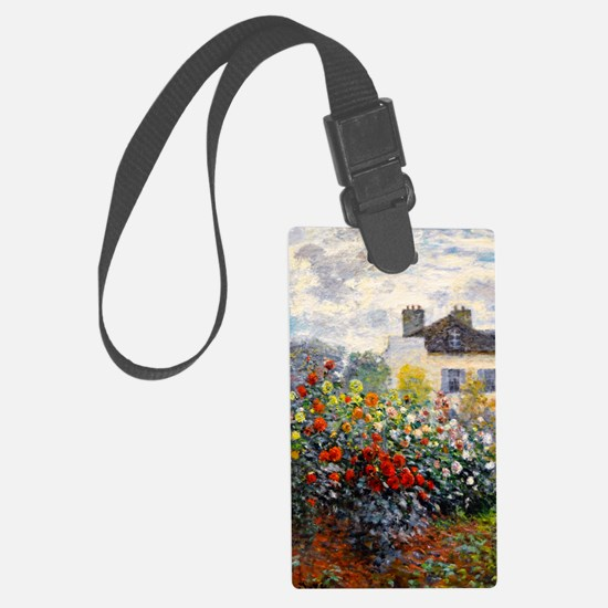 GC Monet Red Large Luggage Tag