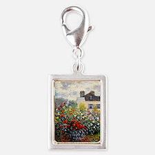 GC Monet Red Silver Portrait Charm