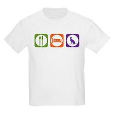Eat Sleep Rex Kids T-Shirt