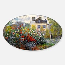 Bag Monet Red Sticker (Oval)