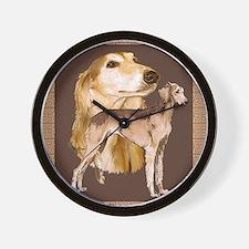 salukis Wall Clock