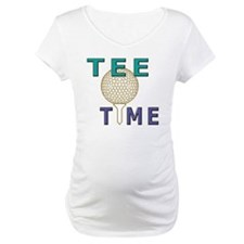 Tee Time Golf Graphic Shirt