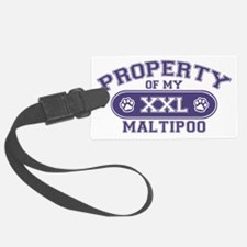 maltipooproperty Luggage Tag