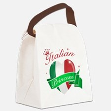 italy Canvas Lunch Bag