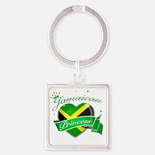 jamaica Square Keychain