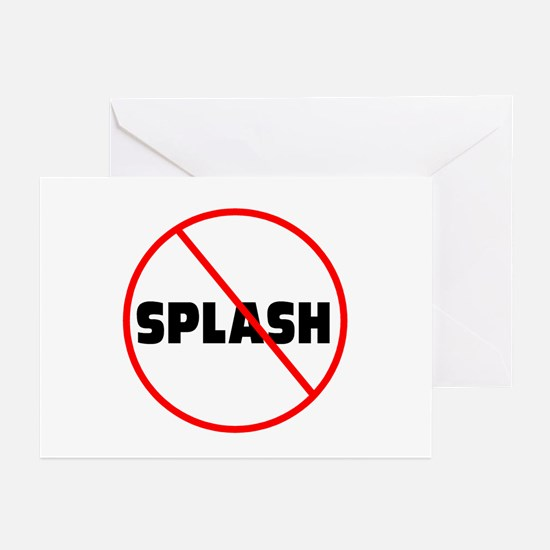 DiveChick No Splash Greeting Cards (Pk of 10)