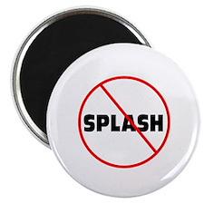 DiveChick No Splash Magnet