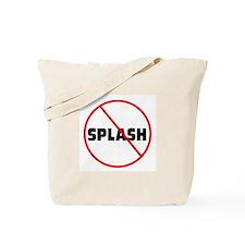 DiveChick No Splash Tote Bag