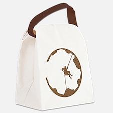 A Climbers World Canvas Lunch Bag
