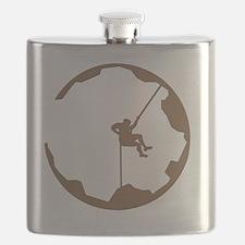 A Climbers World Flask
