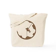 A Climbers World Tote Bag