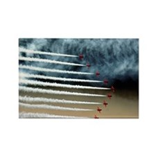 RED ARROWS Rectangle Magnet