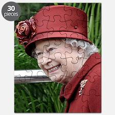 HRH QUEEN ELIZABETH II Puzzle