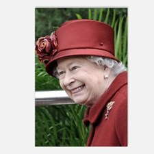 HRH QUEEN ELIZABETH II Postcards (Package of 8)