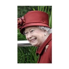 HRH QUEEN ELIZABETH II Decal