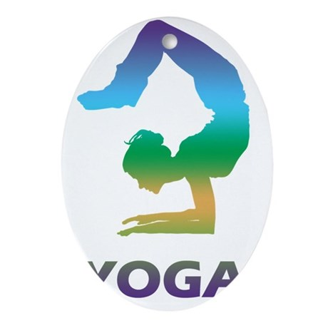 Yoga13 Oval Ornament