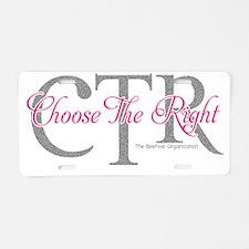 ctr2 Aluminum License Plate