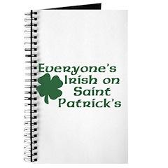 Everyone's Irish on St. Patrick's Journal