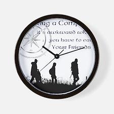 compass joke Wall Clock