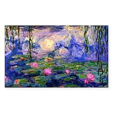 Bag Monet Lilies 3 Decal