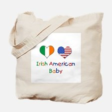 Irish American Baby Tote Bag