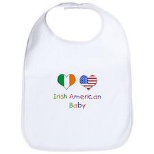 Irish American Baby Bib