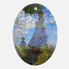 GC Monet 4 Oval Ornament