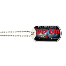 Red Tail 8x8 Dog Tags