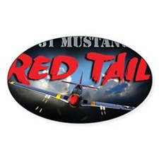 Red Tail 8x8 Decal