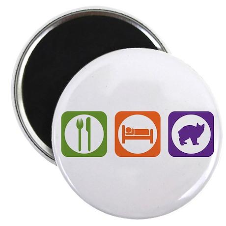 "Eat Sleep Manx 2.25"" Magnet (10 pack)"