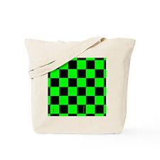 flipflopsgrncheckerboardpng Tote Bag