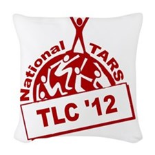 TLC12 logob Woven Throw Pillow