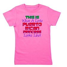 Puerto Rican Princess Girl's Tee