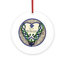 McKenzie Heart Round Ornament