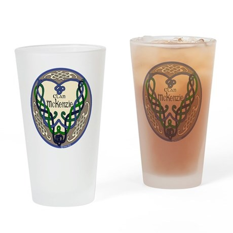McKenzie Heart Drinking Glass