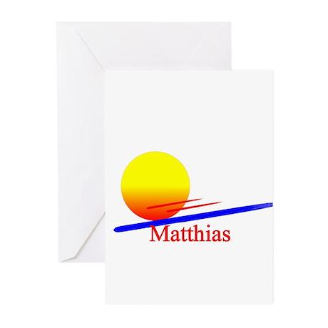 Matthias Greeting Cards (Pk of 10)